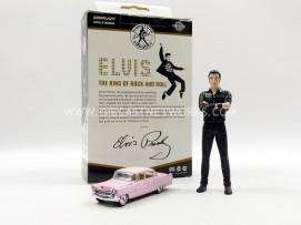 FIGURINES ELVIS PRESLEY + CADILLAC 1-64 - 1955