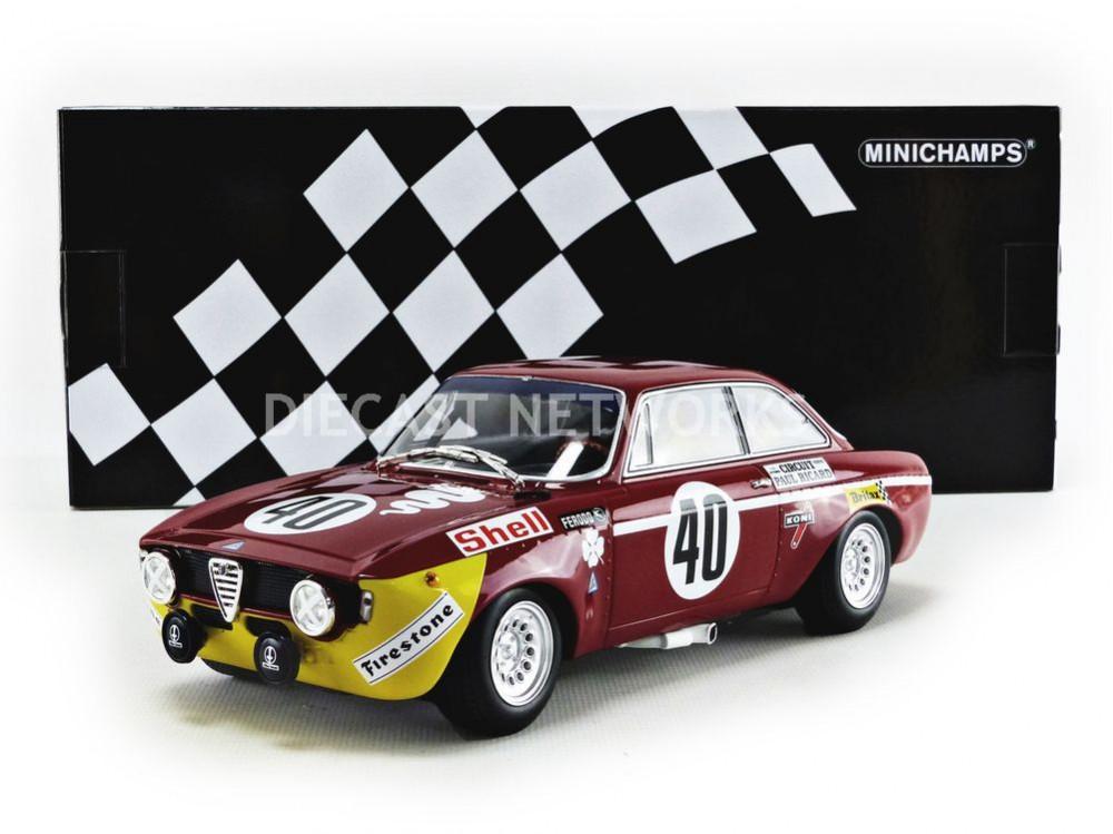 ALFA-ROMEO GTA 1300 JUNIOR - WINNER PAUL RICARD 1971