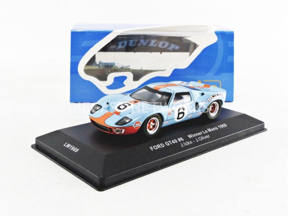 FORD GT 40 - GULF - WINNER LE MANS 1969