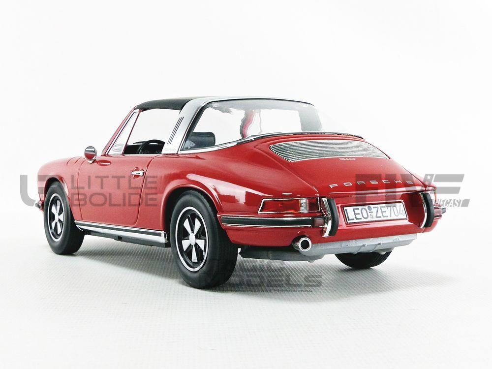 PORSCHE 911 T 2.2L TARGA NOREV 1972-187634 1//18