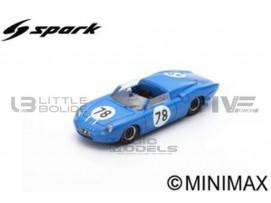ALPINE M63 BARQUETTE - 3H D'AUVERGNE 1963