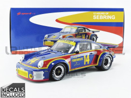 PORSCHE 911 CARRERA RSR 3.0 - WINNER 12H SEBRING 1976