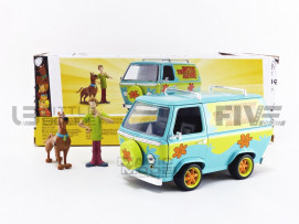 MISTERY MACHINE SCOOBY DOO - WITH SHAGGY AND SCOOBY FIGURES