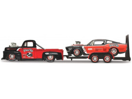FORD PICK UP 1948 + MUSTANG 1967