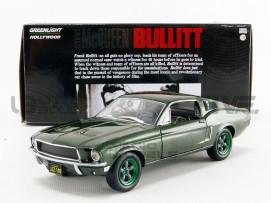 FORD MUSTANG GT 390 BULLITT - STEVE MC-QUEEN 1968