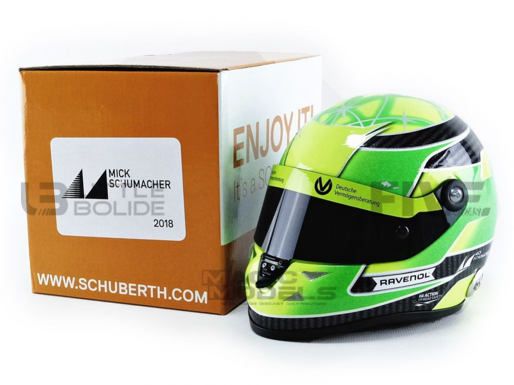 CASQUES MICK SCHUMACHER - F3 CHAMPION 2018