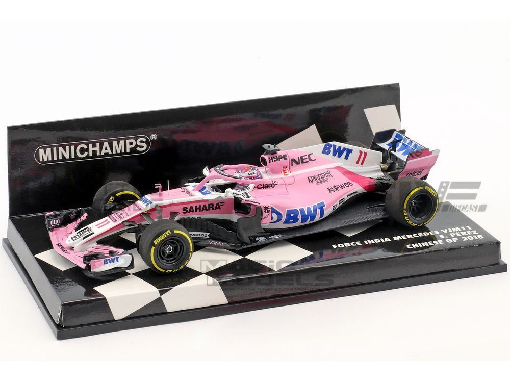 FORCE INDIA VJM11 - CHINESE GP 2018