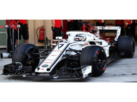 SAUBER F1 C37 - TEST GP ABU DHABI 2018