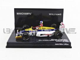 WILLIAMS HONDA FW11 - ALLEMAGNE GP TAXI ROSBERG 1986