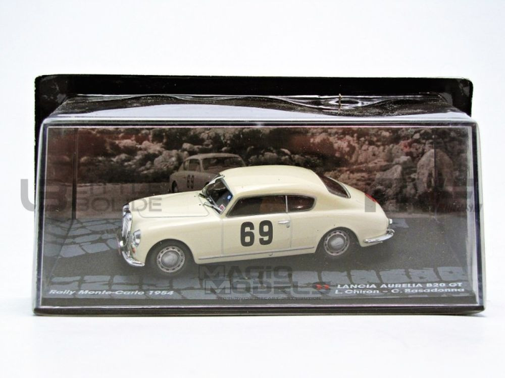 LANCIA AURELIA GT - RALLYE MONTE CARLO 1954