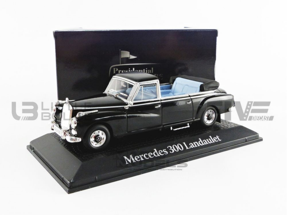MERCEDES 300 LANDAULET W189 - 1963