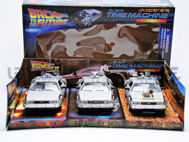 DE LOREAN COFFRET - BACK TO THE FUTURE I, II, III