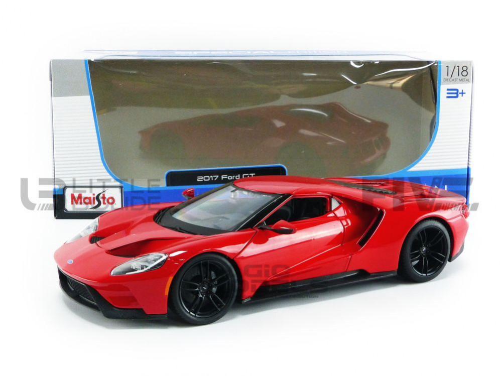 1:18 Maisto Ford GT 2017 red
