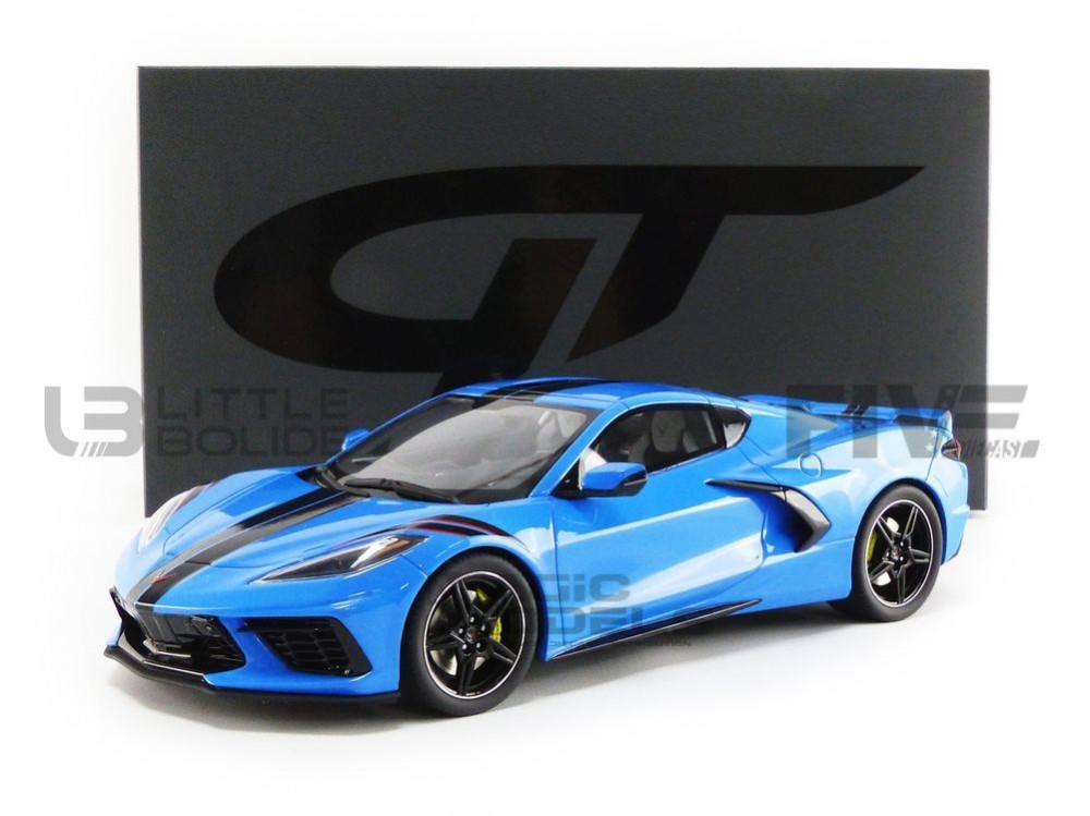 CHEVROLET CORVETTE C8 1//18 GT Spirit GT286 EN STOCK