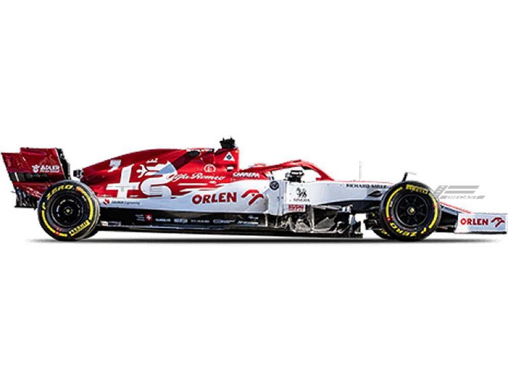 ALFA-ROMEO C39 - F1 GP AUTRICHE 2020