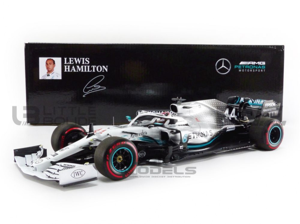 MERCEDES GP F1 W10 EQ POWER+ - GP ALLEMAGNE 2019