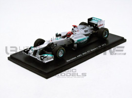 MERCEDES GP W03 - MONACO GP 2012