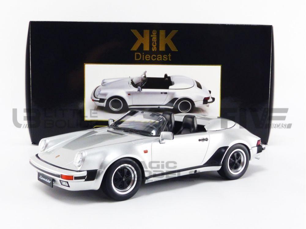 1989-180453S PORSCHE 911 SPEEDSTER KK SCALE MODELS 1//18