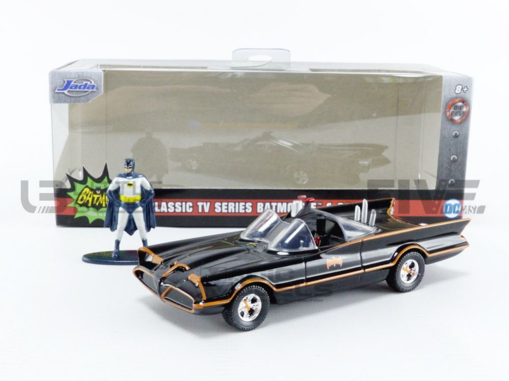 BATMOBILE BATMAN - 1966 VERSION - WITH FIGURINE