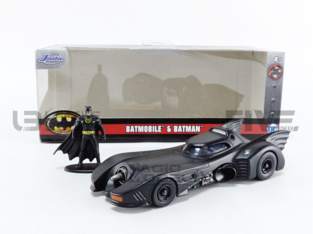 BATMOBILE BATMAN - 1989 VERSION - WITH FIGURINE