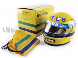 CASQUE AYRTON SENNA - LOTUS - 1987