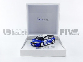 DACIA LODGY GLACE - TROPHEE ANDROS 2012