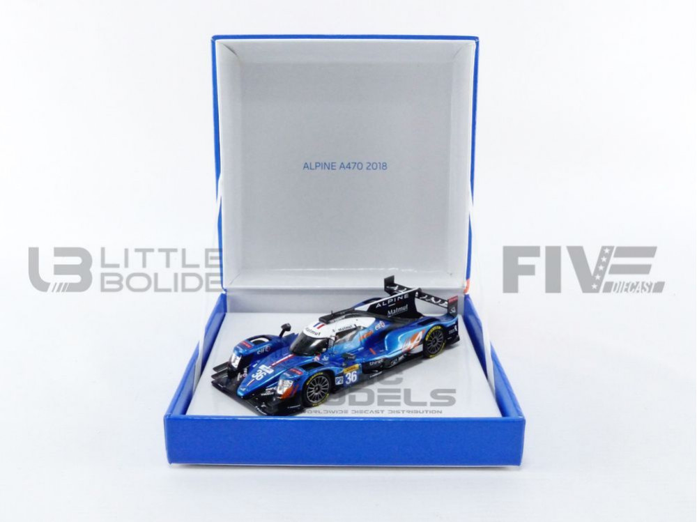 ALPINE A470 GIBSON - WORLD CHAMPION LMP2 2018
