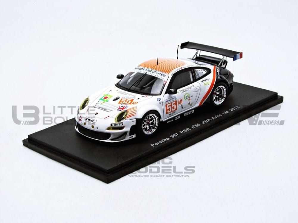 PORSCHE 997 RSR LM GTE AM - LE MANS 2012