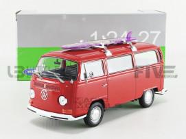 VOLKSWAGEN COMBI T2 BUS - SURFBOARD - 1972