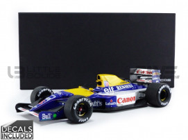 WILLIAMS FW 14 B - WORLD CHAMPION 1992