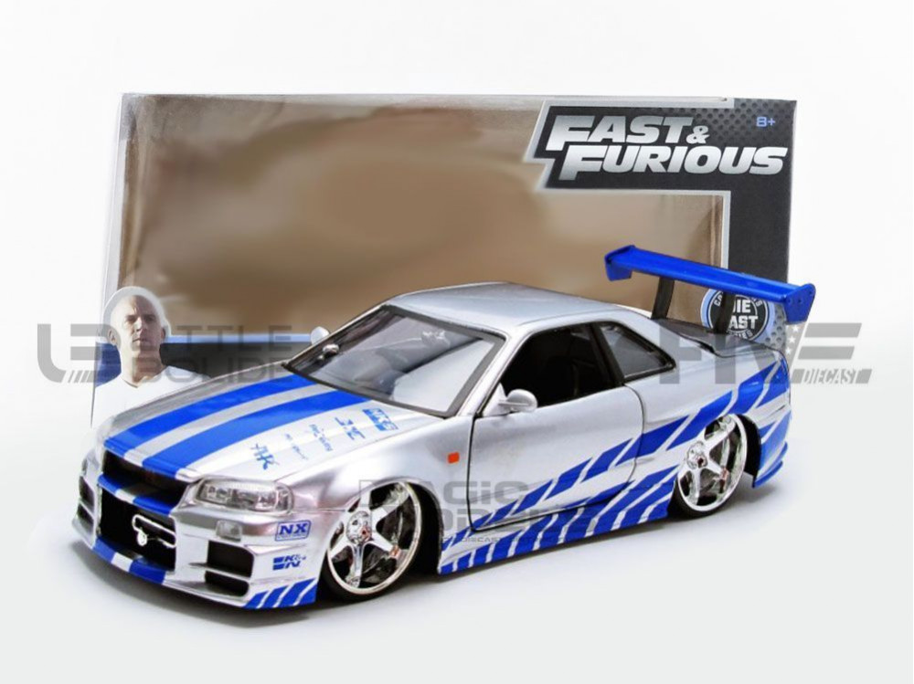 NISSAN SKYLINE GTR R34 - FAST AND FURIOUS