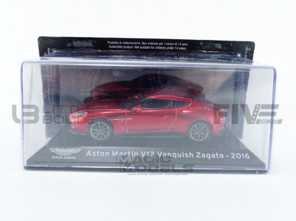 ASTON MARTIN V12 VANQUISH ZAGATO - 2016
