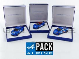 ALPINE PACK 3X A110 CELEBRATION - 2016
