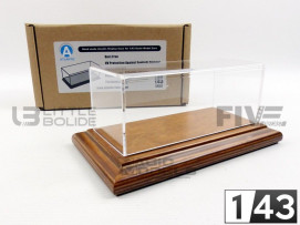 DISPLAY CASE SHOW-CASE 1/43 - BOIS MOHAGANY