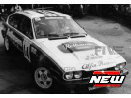 ALFA-ROMEO GTV6 - TOUR DE CORSE 1986