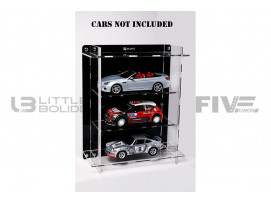 DISPLAY CASE MULTICASE 3X1 - FOR 3 PIECES 1/18 SCALE CARS