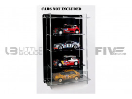 DISPLAY CASE MULTICASE 4X1 - FOR 4 PIECES 1/18 SCALE CARS