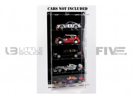 DISPLAY CASE MULTICASE 5X1 - FOR 5 PIECES 1/18 SCALE CARS