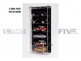 DISPLAY CASE MULTICASE 6X1 - FOR 6 PIECES 1/18 SCALE CARS