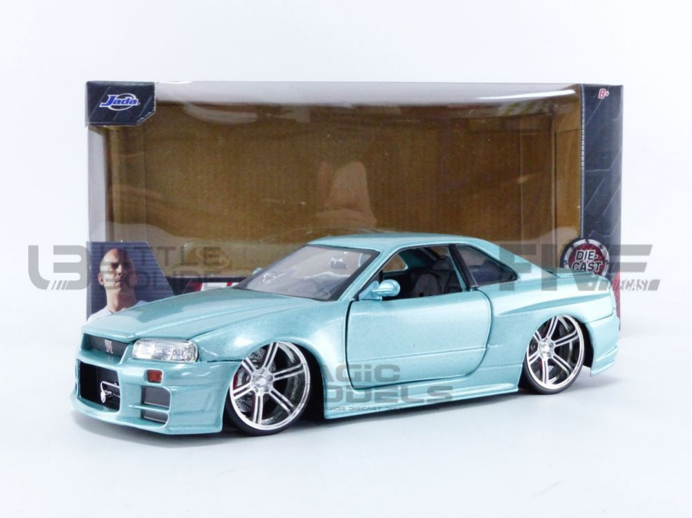 NISSAN SKYLINE GT-R (R34) - FAST AND FURIOUS