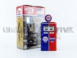 POMPE A ESSENCE TOKHEIM 350 TWIN GAS PUMP CHEVRON SUPREME - 1954