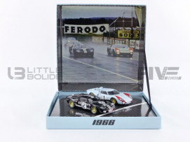 FORD 2-CARS SET GT40 MKII - LE MANS 1966