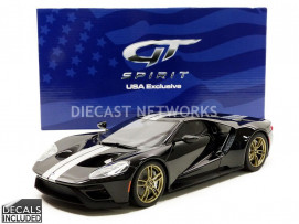 FORD GT HERITAGE EDITION BLACK - 2017