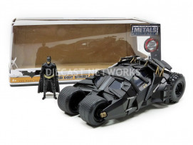 BATMOBILE BATMAN THE DARK KNIGHT - AVEC FIGURINE - 2008