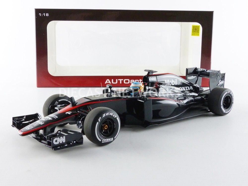 MCLAREN HONDA MP4-30 - GP BARCELONE 2015