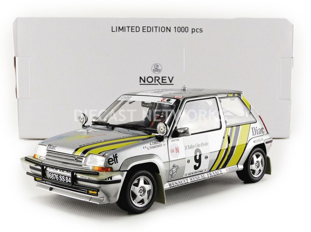 RENAULT 5 GT TURBO - RALLYE DE COTE IVOIRE 1989